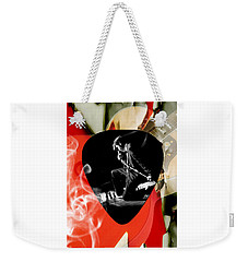 Elvis Presley Art Weekender Tote Bag