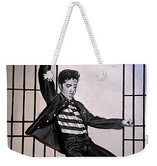 Elvis Presley Jailhouse Rock Weekender Tote Bag