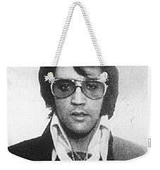 Elvis Presley Mug Shot Vertical Weekender Tote Bag