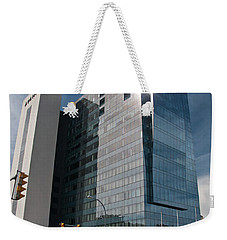 Weekender Tote Bag featuring the photograph Embassy Suites 2916 by Guy Whiteley