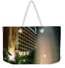 Weekender Tote Bag featuring the photograph Embassy Suites Huntsville by David Morefield