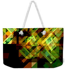Weekender Tote Bag featuring the digital art Embodiment 6 by Lynda Lehmann