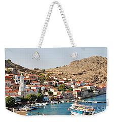 Emborio Village On Halki Weekender Tote Bag