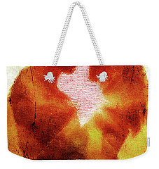 Weekender Tote Bag featuring the digital art Embrace by Andrea Barbieri