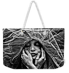 Weekender Tote Bag featuring the photograph Embrace by Joseph Casey