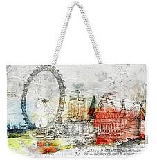 Embrace Life Weekender Tote Bag