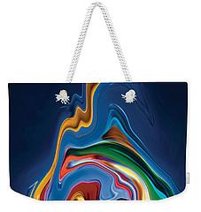 Weekender Tote Bag featuring the digital art Embrace by Rabi Khan
