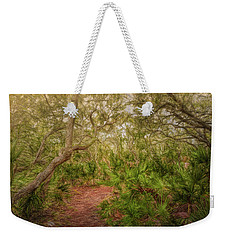 Weekender Tote Bag featuring the photograph Embrace The Journey by John M Bailey