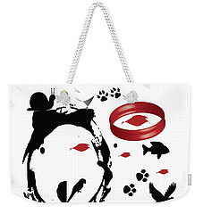 Embrace Your Natural Creations Weekender Tote Bag