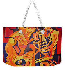 Embracing Death Weekender Tote Bag by Tracey Harrington-Simpson