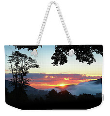 Embracing The Dawn Weekender Tote Bag