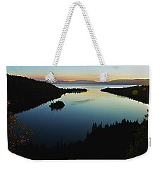 Emerald Bay, Lake Tahoe, Dawn Weekender Tote Bag