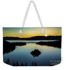 Emerald Bay Summer Solstice Weekender Tote Bag by Mitch Shindelbower