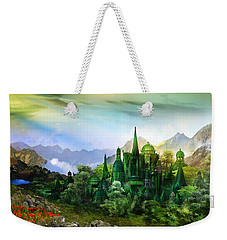 Emerald City Weekender Tote Bag