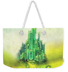 Emerald City Weekender Tote Bag by Mo T