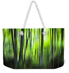 Green Forest - North Carolina Weekender Tote Bag