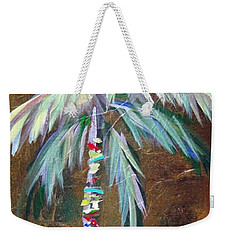 Emerald Fire Palm  Weekender Tote Bag