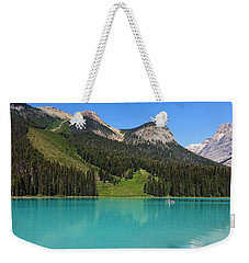 Emerald Lake, British Columbia Weekender Tote Bag