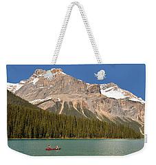 Emerald Lake Weekender Tote Bag