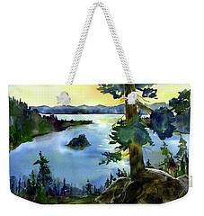 Emerald Morn, Lake Tahoe Weekender Tote Bag