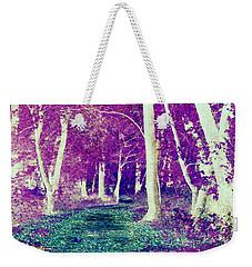 Emerald Path Weekender Tote Bag