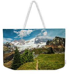Emerald View Weekender Tote Bag