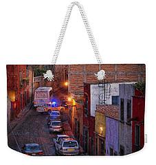 Emergency Weekender Tote Bag by John Kolenberg
