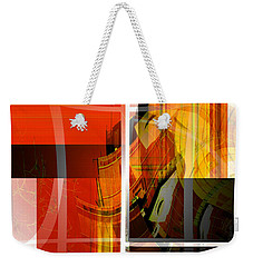 Emerging Concrete Life Weekender Tote Bag by Thibault Toussaint