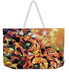 Emerging Dawn Weekender Tote Bag