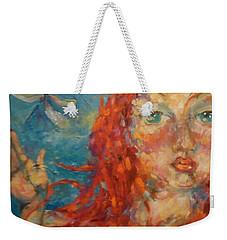 Emily Weekender Tote Bag by Heather Roddy