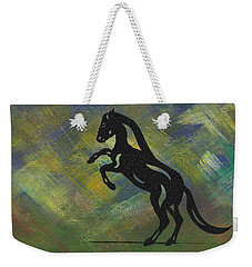 Emma - Abstract Horse Weekender Tote Bag