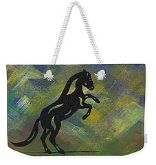 Emma II - Abstract Horse Weekender Tote Bag