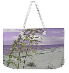 Emma Kate's Purple Beach Weekender Tote Bag by Rachel Hannah