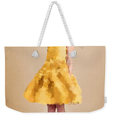Weekender Tote Bag featuring the digital art Emma by Nancy Levan