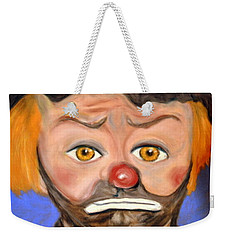 The Clown  Weekender Tote Bag by Antonia Citrino
