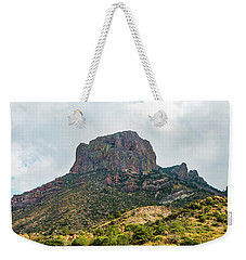 Emory Peak Chisos Mountains Weekender Tote Bag