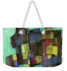 Colorful Weekender Tote Bag by Behzad Sohrabi
