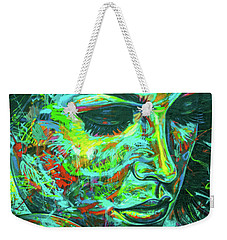 Emotion Green Weekender Tote Bag