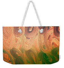 Emotion Acrylic Abstract Weekender Tote Bag