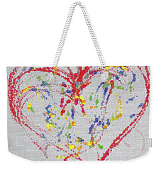 Emotions Of The Heart Weekender Tote Bag