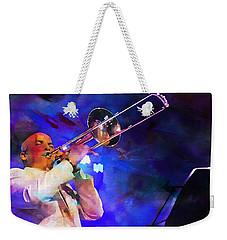 Emperor Of Salsa Dura, Jimmy Bosch  Weekender Tote Bag