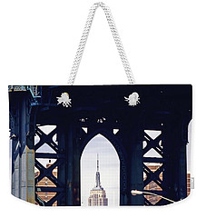 Empire Framed Weekender Tote Bag