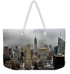 Empire State Building Weekender Tote Bag by Martin Newman