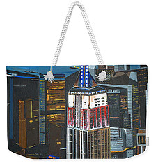 Empire State Weekender Tote Bag by Donna Blossom