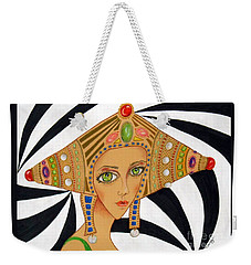 Empress Exotica -- Whimsical Exotic Woman Weekender Tote Bag