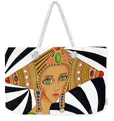 Empress Exotica -- Whimsical Exotic Woman Weekender Tote Bag