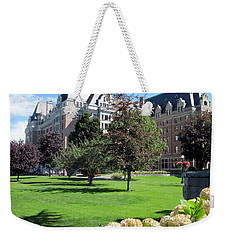 Empress Hotel Weekender Tote Bag by Betty Buller Whitehead