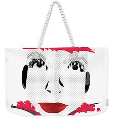 Empress Red Weekender Tote Bag
