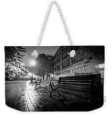 Weekender Tote Bag featuring the photograph Emptiness by Everet Regal