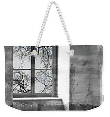 Weekender Tote Bag featuring the photograph Emptiness by Munir Alawi